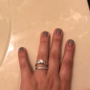 Jewelry - Wedding band size 6 and engagement ring size 7🎉